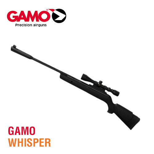 Black Ops BB And Pellet Guns:  Gamo Whisper Air Rifle With Noise Dampener Review