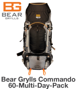 Bear Grylls Commando 60-Multi-Day Pack: The Pinnacle Of The BG Backpack Line