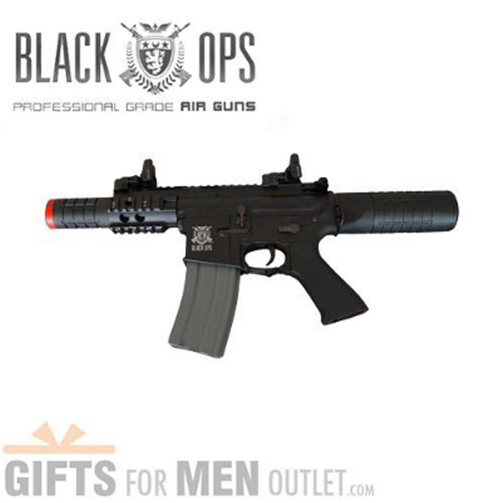 Black Ops Airsoft Guns: Full Metal Cobra Assault Rifle Review