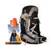 45 Patrol Backpack and Survival Poncho Torch