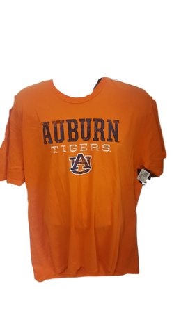 Auburn Tigers Tee Shirt Orange