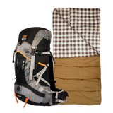 Image of Bear Grylls 45L Patrol Backpack + American Trails Safari 6 Sleeping Bag