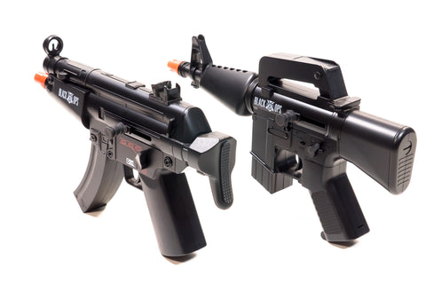 Black Ops - Mini Electric Machine Gun 2-Pack