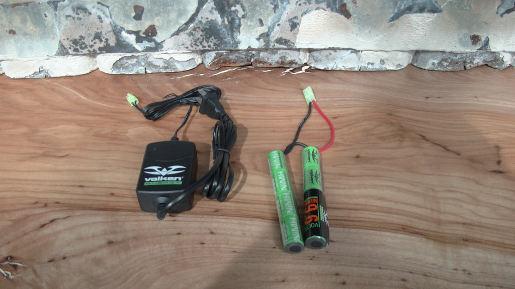 Valken NiMH Batery and Smart Charger