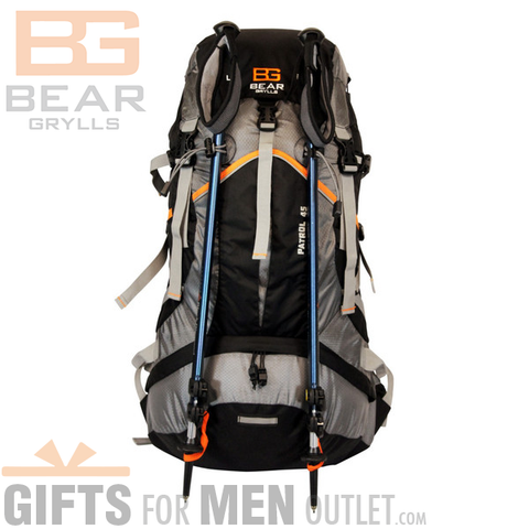 Bear Grylls 45L Patrol Backpack + Cup + Ultimate Knife