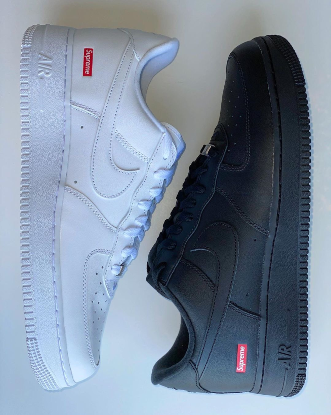 Supreme x AF1 - Highly Anticipated Release With Possible 'Black Air Force Activity?'