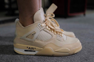 Jordan 4 x Off White Summer Release?