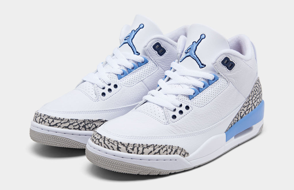 "Jordan 3 ""UNC"" - Jordan 3 Comes Back With a Bang"