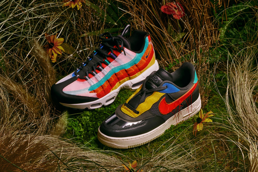 Air Force 1 Low & Air Max 95 Receive Black History Month Remix