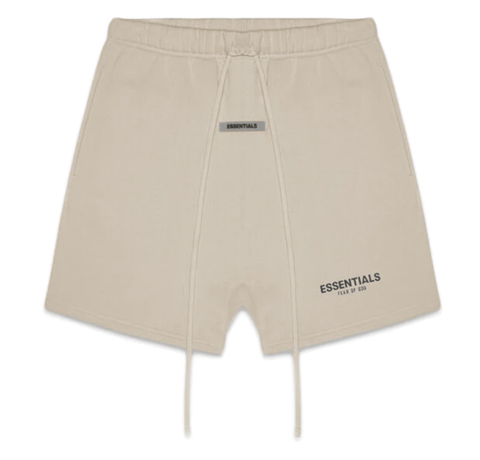 FEAR OF GOD ESSENTIALS Fleece Shorts Olive/Khaki - League Above