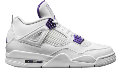 Jordan 4 Retro Metallic Purple - League Above