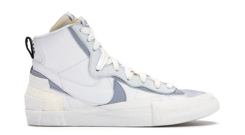 Nike Blazer Mid Sacai White Grey - League Above