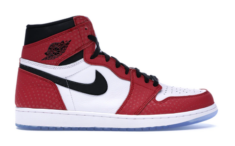 Jordan 1 Retro High Spider-Man Origin Story