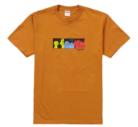 Supreme Life Tee Burnt Orange