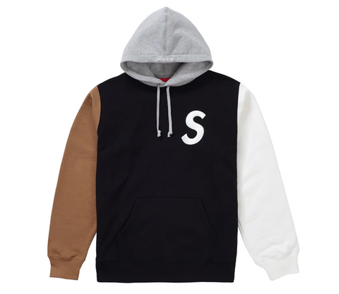 Supreme S Logo Colorblocked Hoodie - League Above