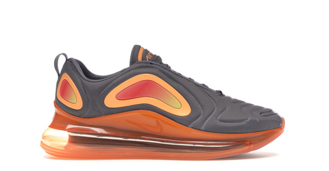 Air Max 720 Black Fuel Orange - League Above