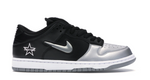 Nike SB Dunk Low Supreme Jewel Swoosh Silver - League Above