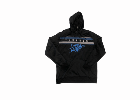 Black OKC Thunder Hoodie - League Above