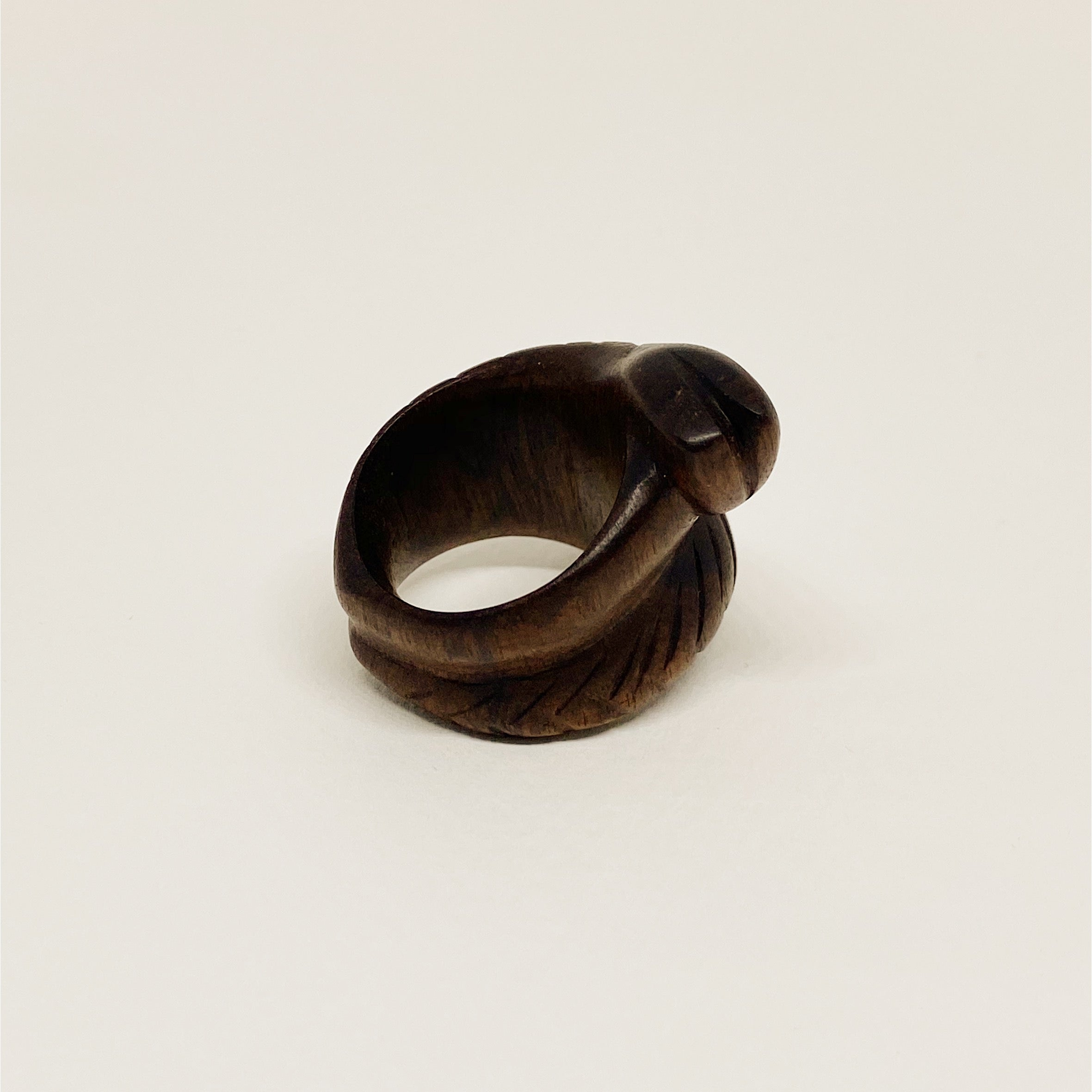Double Snake | Wooden Ring