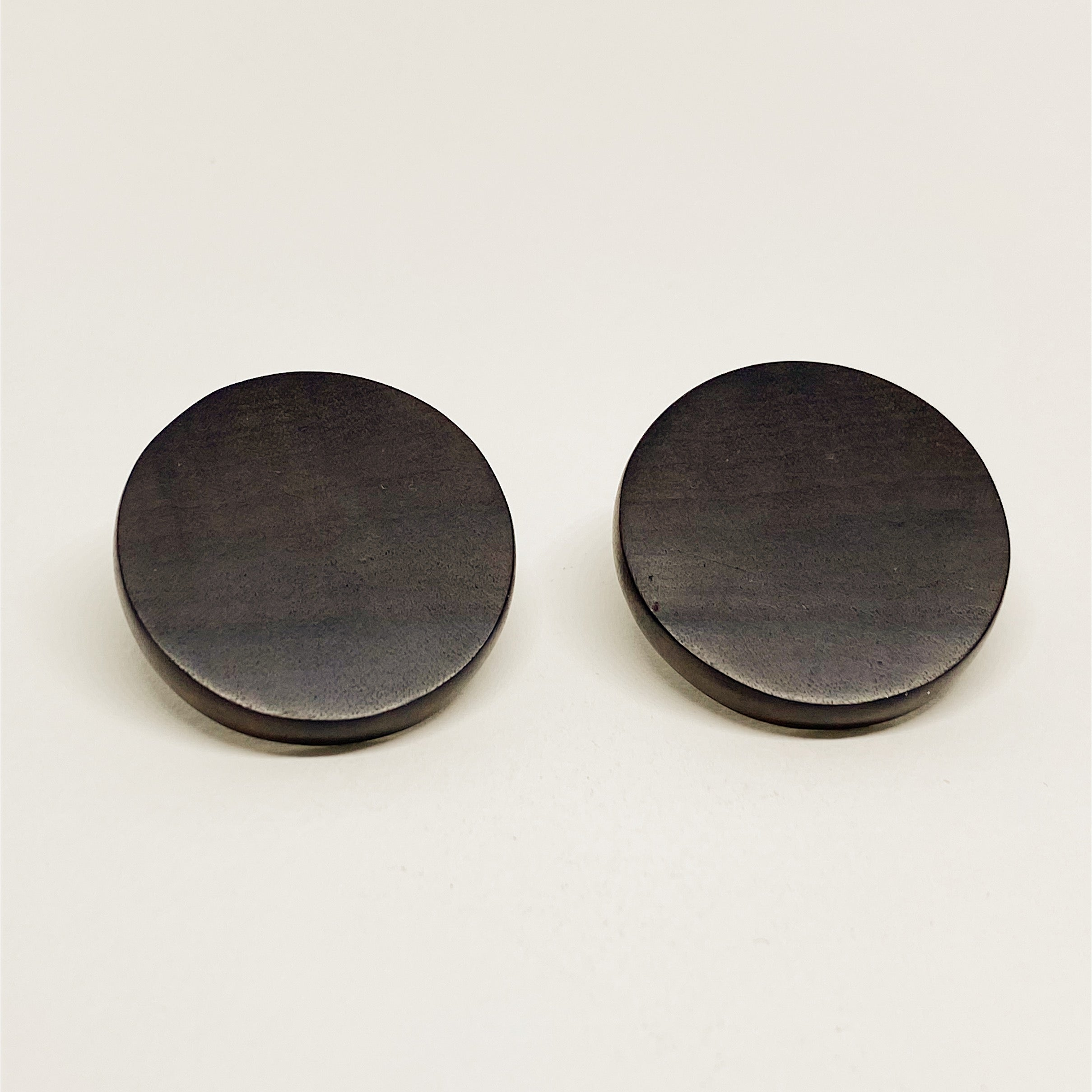 Circle | Wooden Earrings