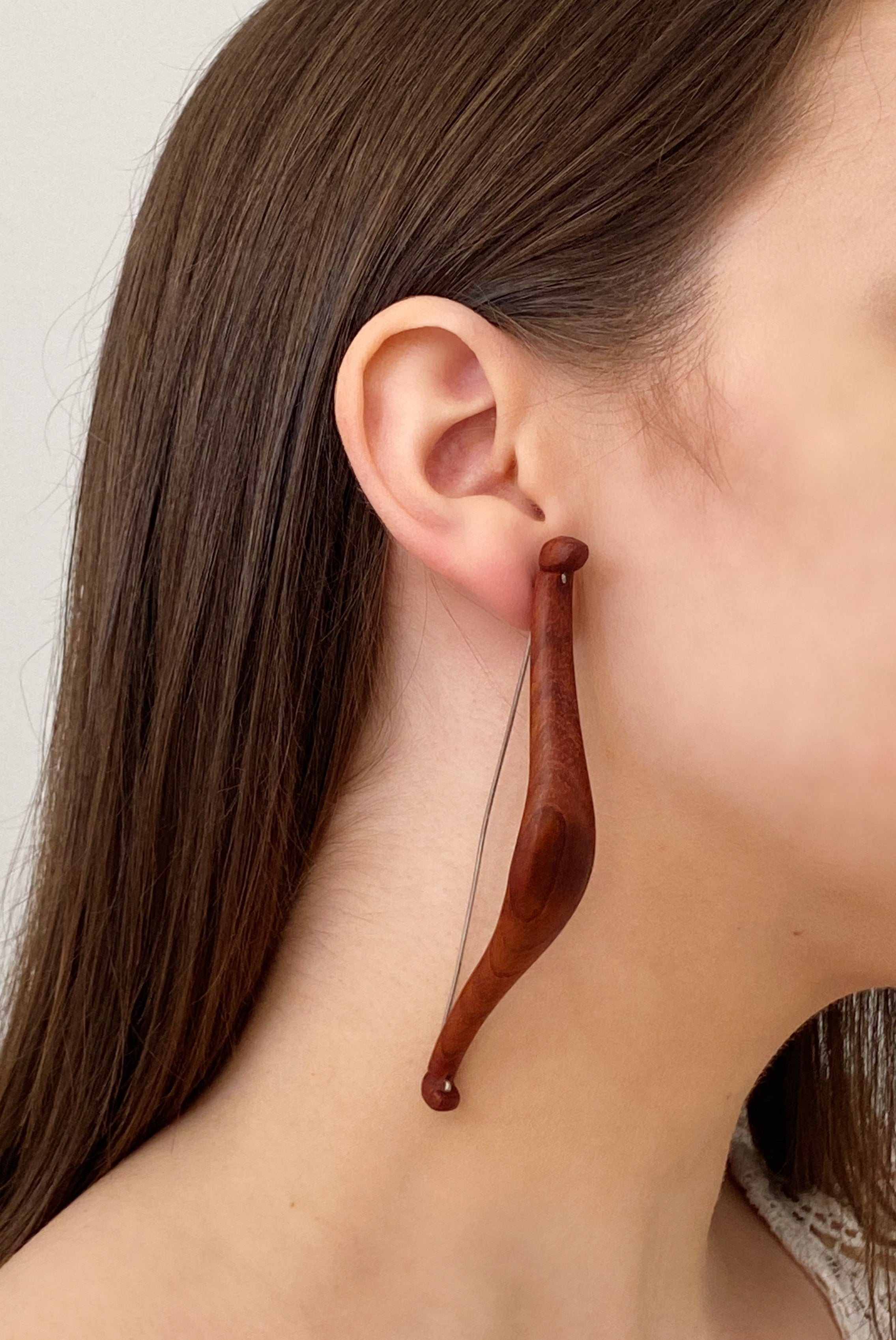 Archery | Designer Wooden Earrings