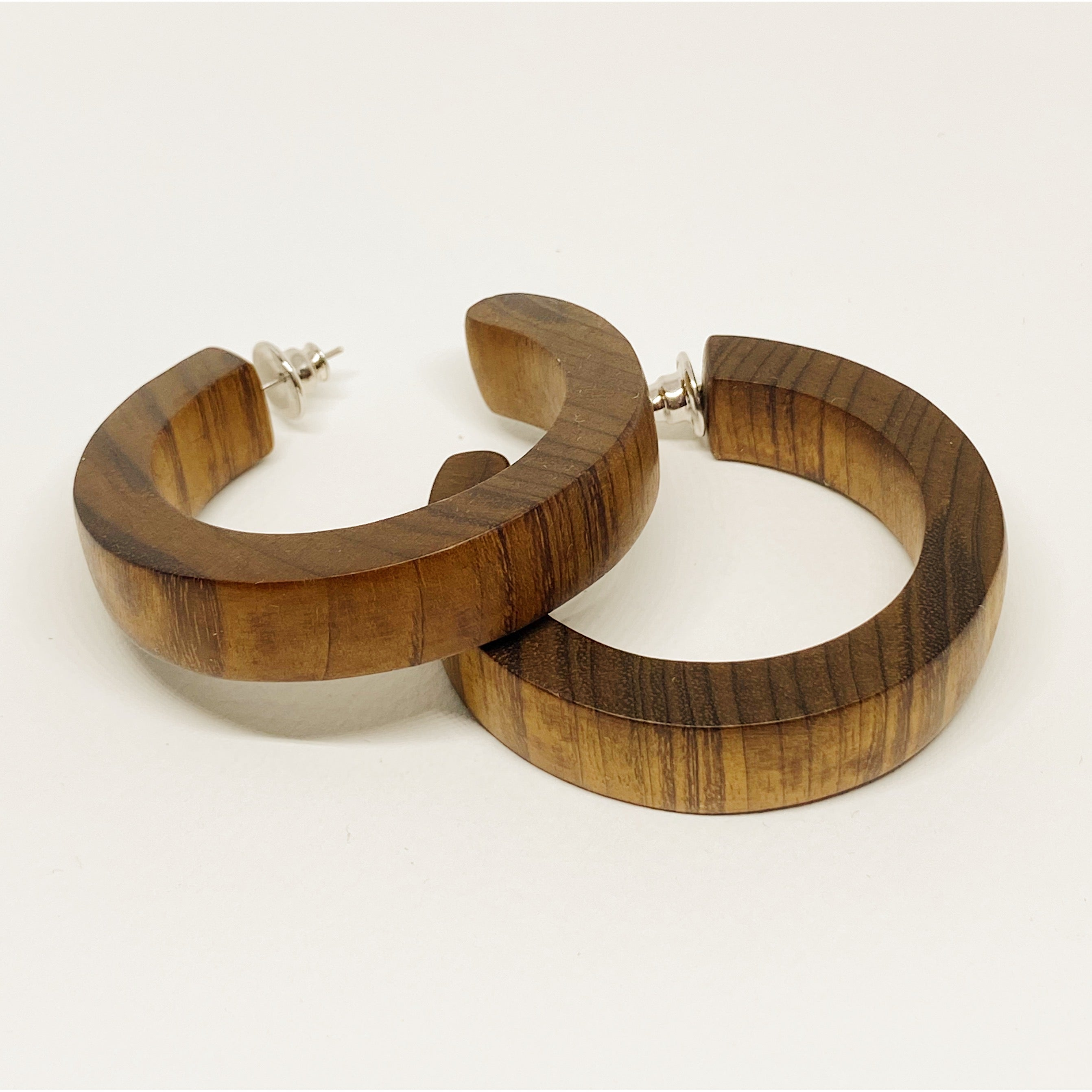 Boxy Wooden Hoops
