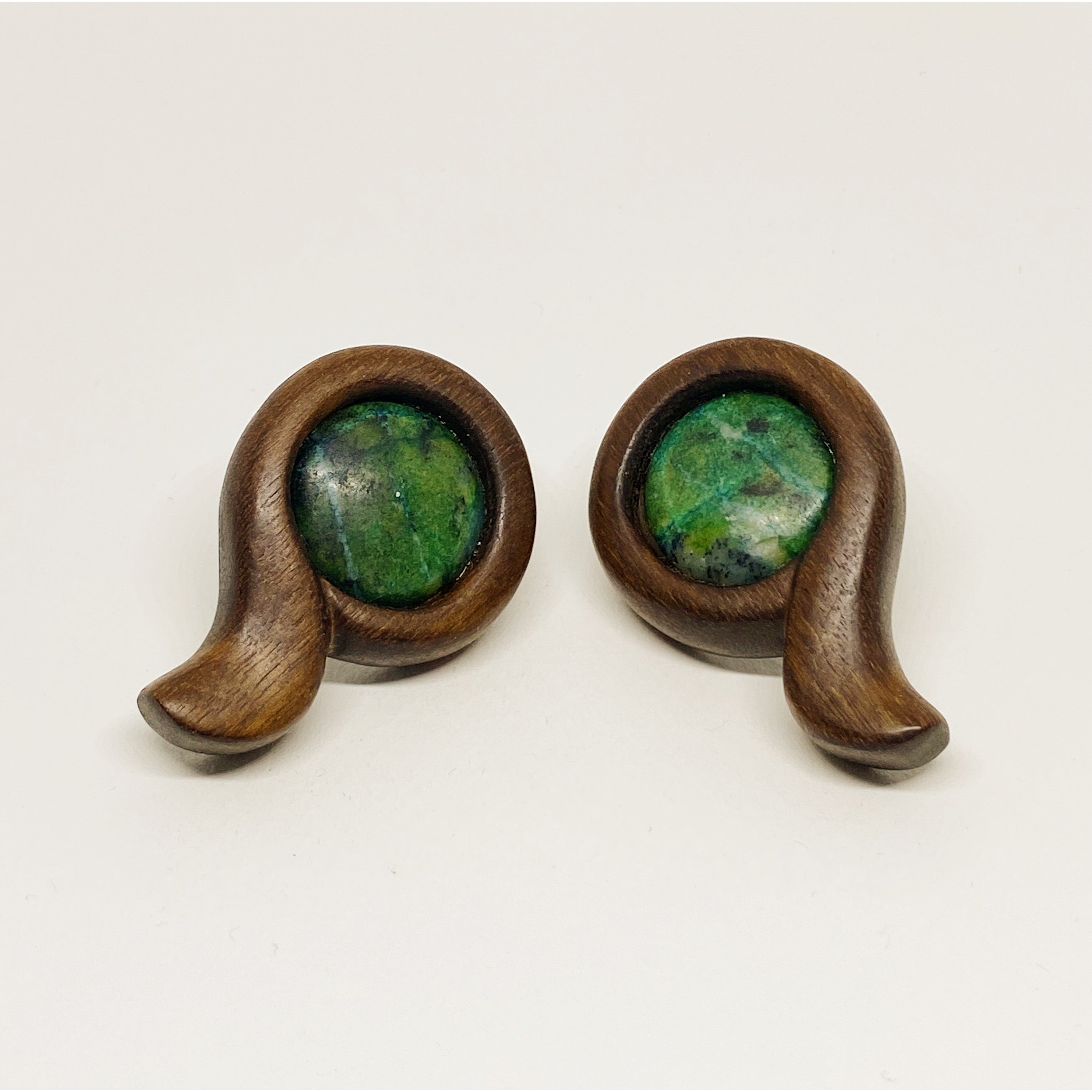 Jungle | Wooden Earrings