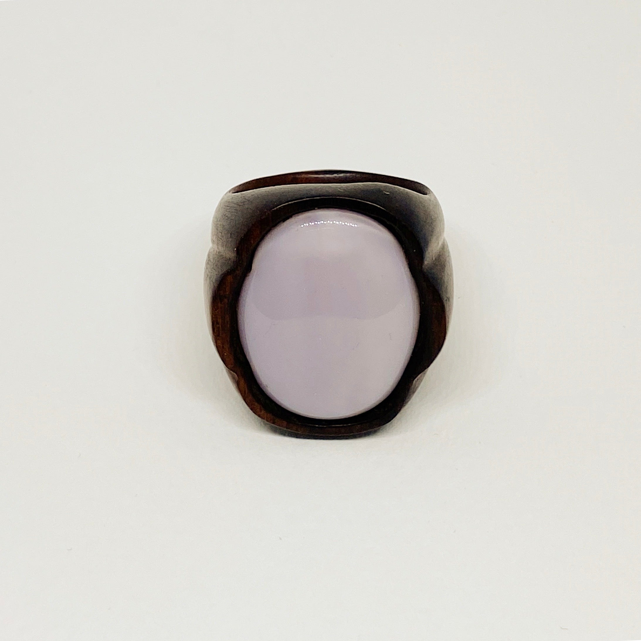 Pink Moon | Wooden Ring