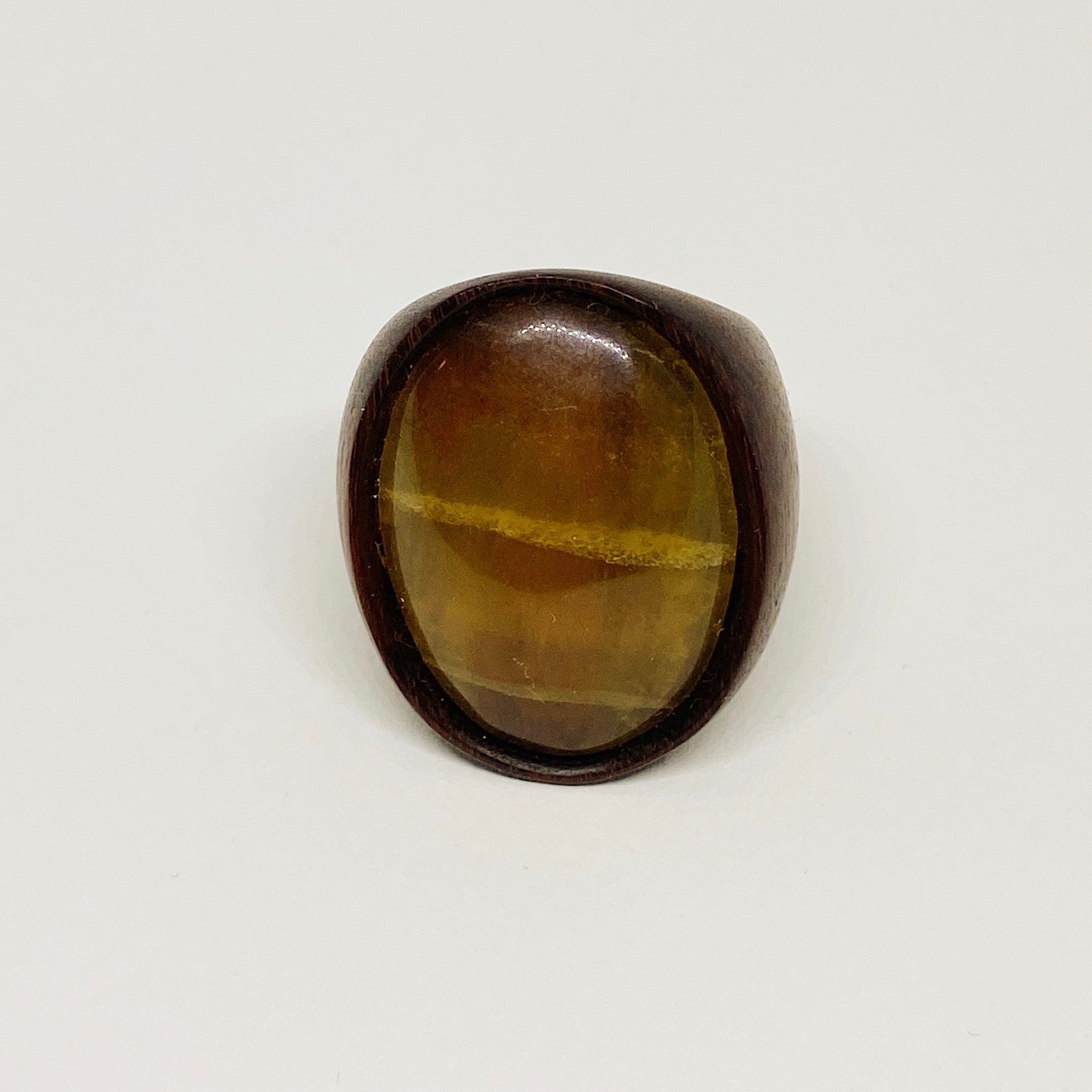 Tiger Eye Blend | Wooden Ring