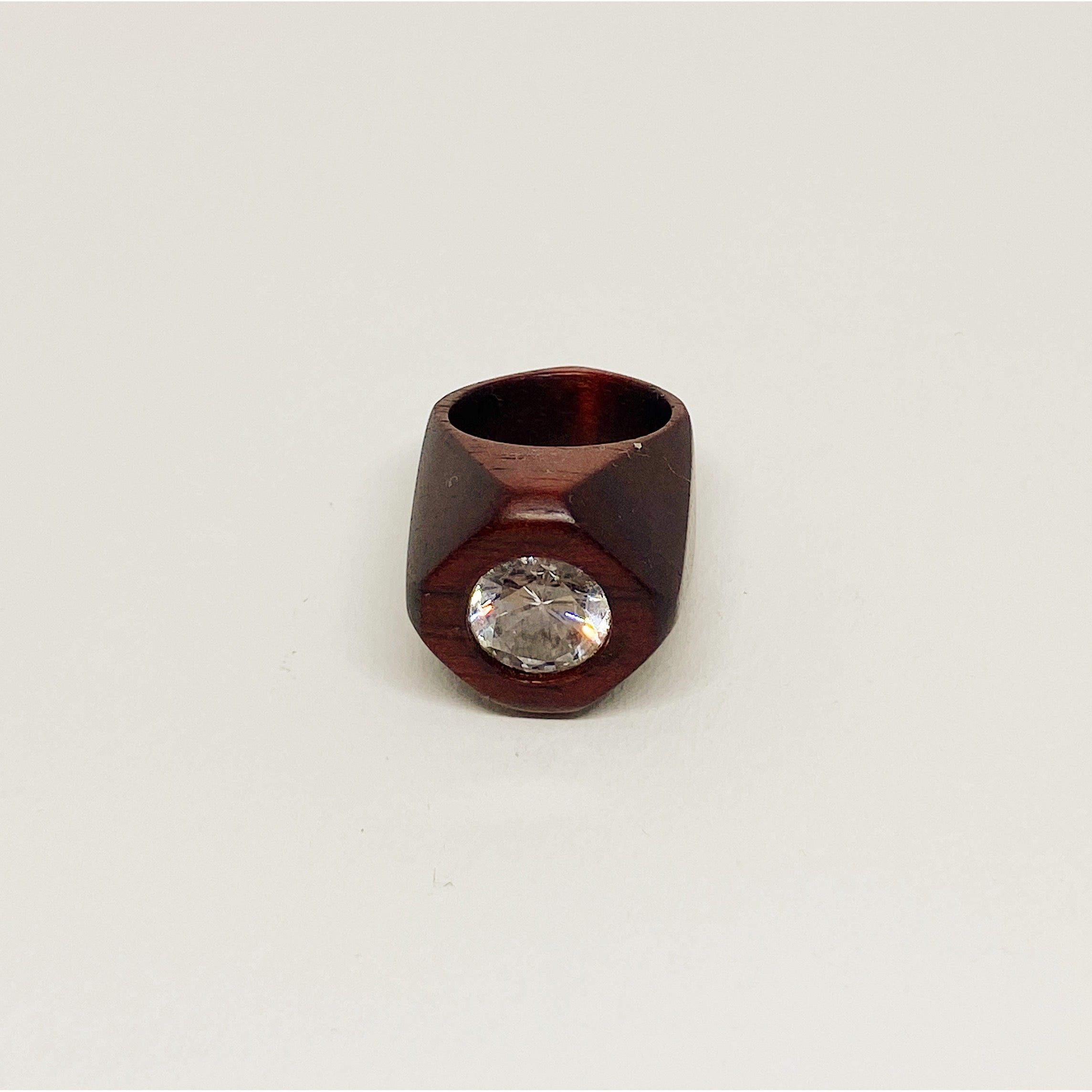 Shinny Crystal Pinky Ring