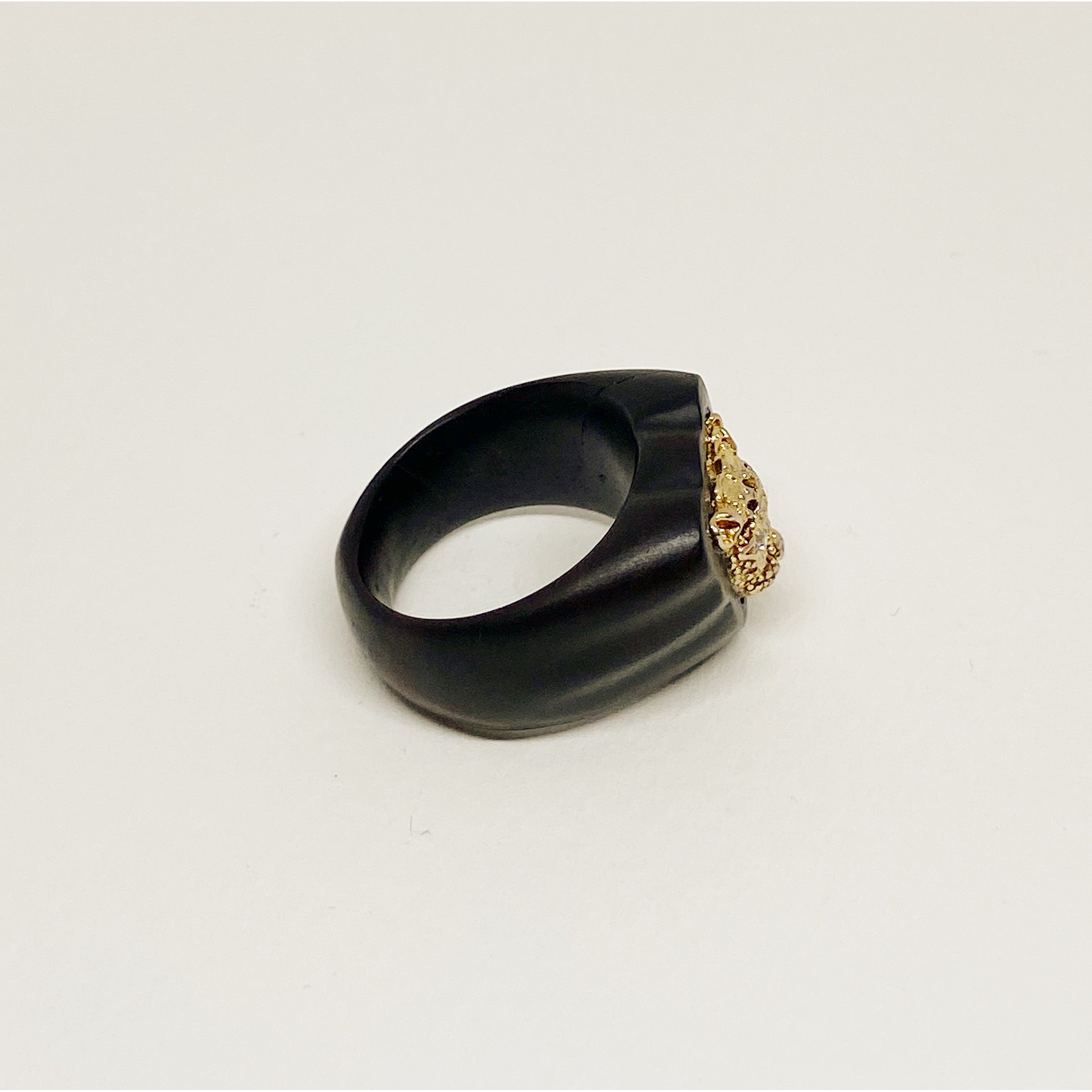 Golden Panther | Wooden Ring SOLD OUT