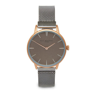 Personalised Watch Elie Beaumont Holborn Rose Silver - Wear We Met
