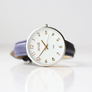 Personalised Anaii Watch In Orchid Purple - Wear We Met