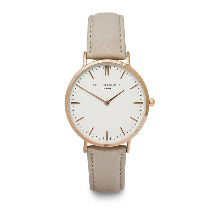 Personalised Watch Elie Beaumont London Oxford Stone