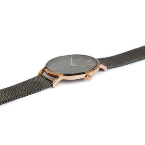 Own Handwriting Elie Beaumont Dark Grey Ladies Watch - Wear We Met