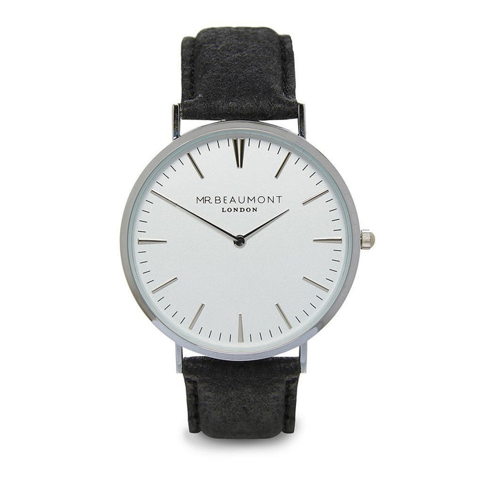 Personalised Mr Beaumont of London Men's Vegan-friendly Watch