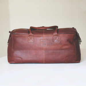 Full-grain Leather Travel Bag - Wear We Met