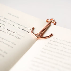 Book Anchor - Gold & Rose Gold