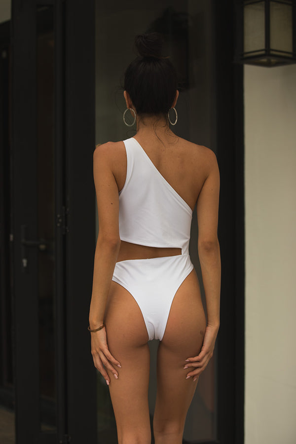 Aria Monokini in White