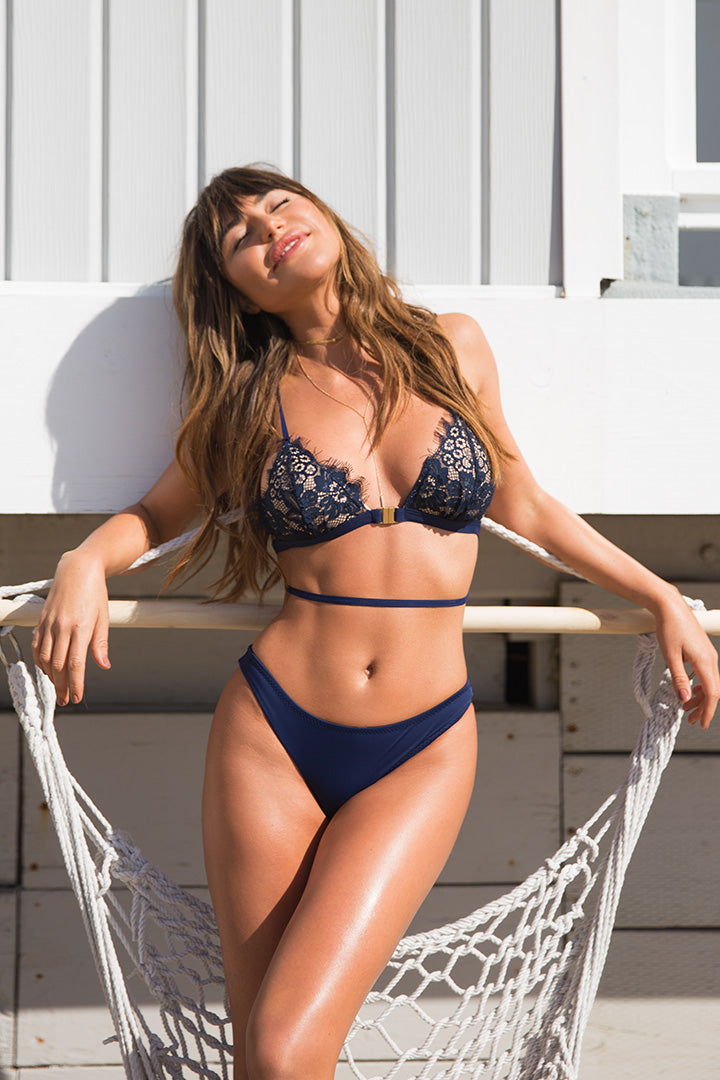 Sienna in Royal Blue Lace