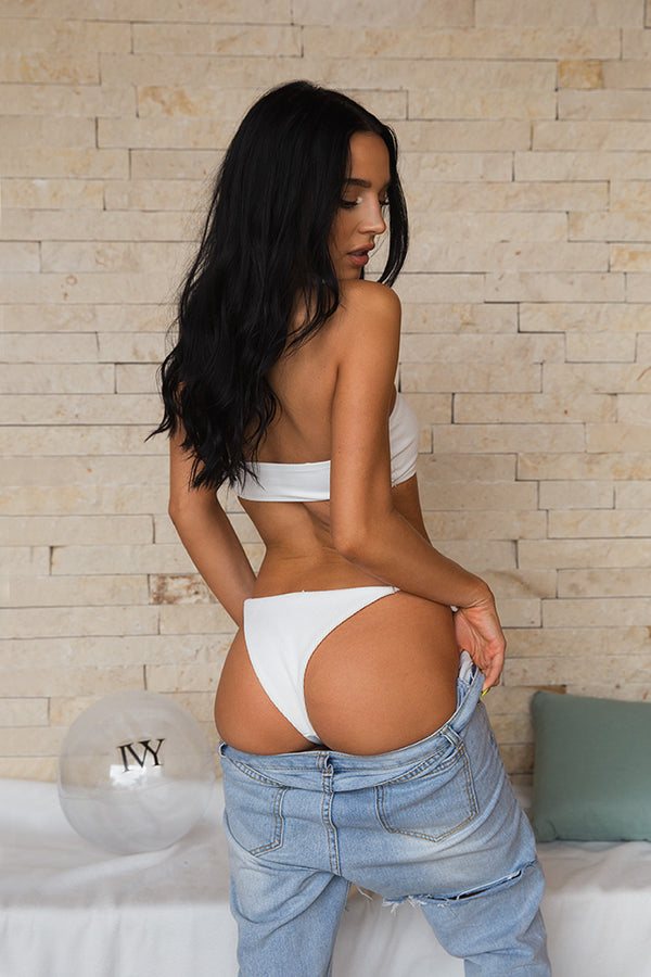Yasmine in White
