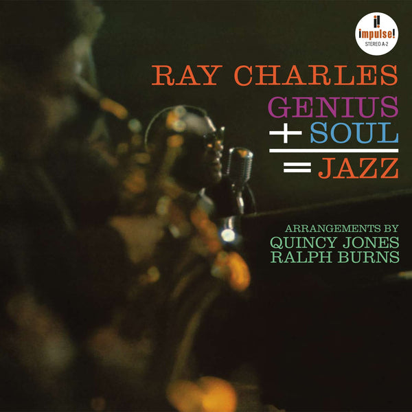 Ray Charles - « Genius + Cool = Jazz » - Acoustic Sound