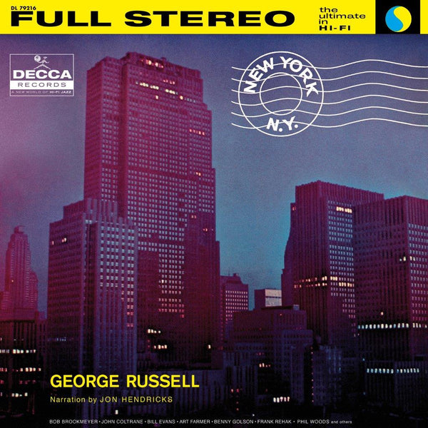 George Russell - New York, NY - Vinyle Audiophile - Acoustic Sounds