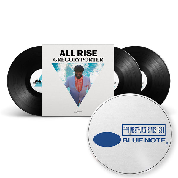 "EXCLUSIVITÉ : TRIPLE VINYLE AUDIOPHILE DÉDICACÉ + FEUTRINE - ALL RISE ""GREGORY PORTER"""