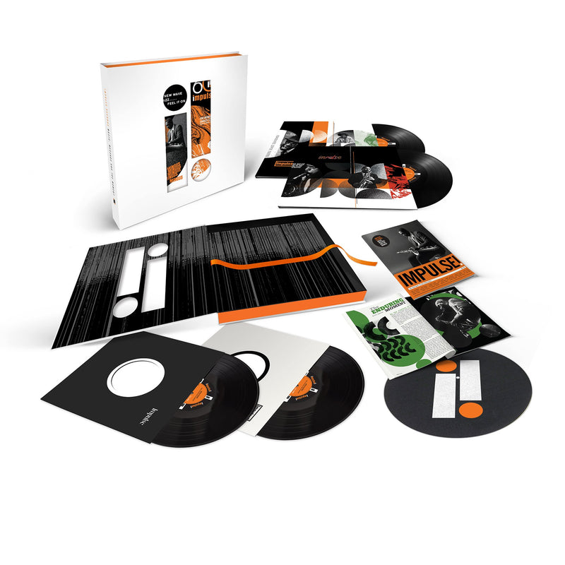 Impulse Records - Music : Message And The Moment - Coffret 4LP + Feutrine
