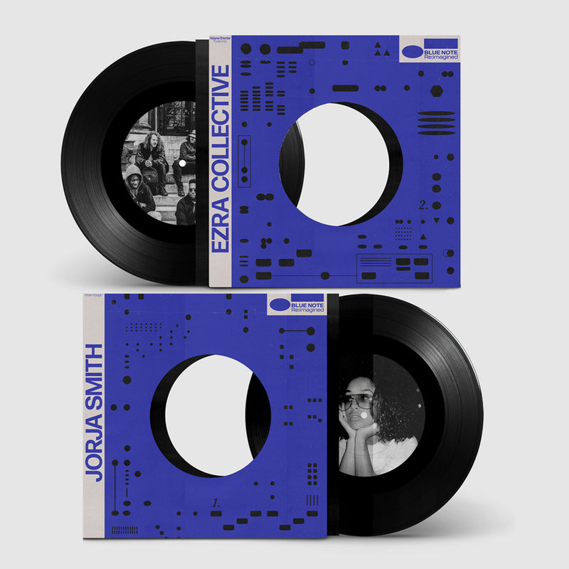 EXCLUSIVITÉ Jorja Smith/Ezra Collective - Rose Rouge/Footprints - 45T - BLUE NOTE RE:IMAGINED
