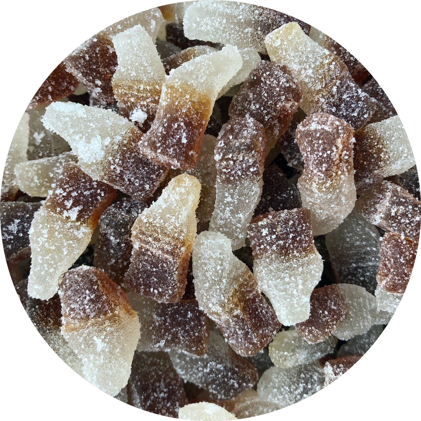 Fizzy Cola Bottles - Vegan Sweets