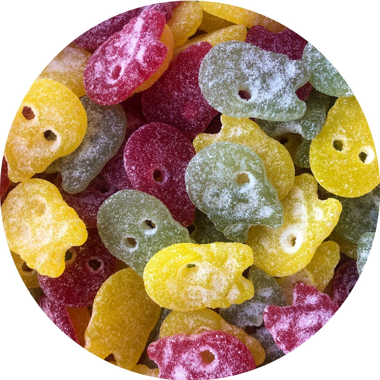 Sour Skull Mix - Vegan Sweets