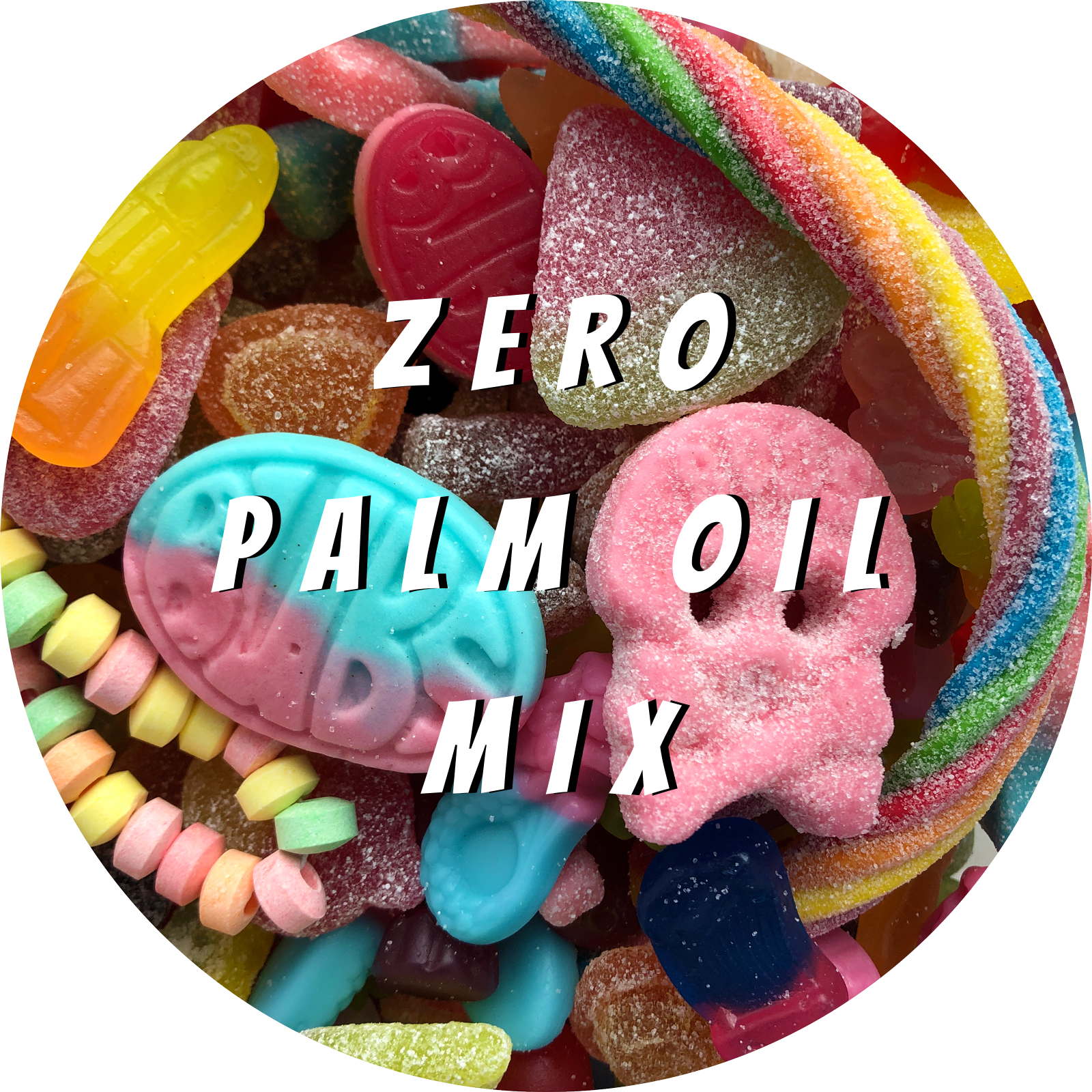 Pre Made Zero Palm Oil Vegan Pick and Mix Sweets