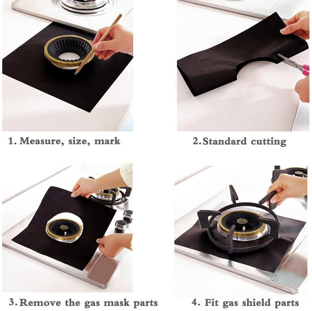 Stove Protector Liner (2PCS)